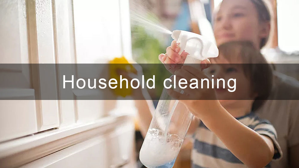 Spray Bottle and Trigger Sprayer for Household Cleaning